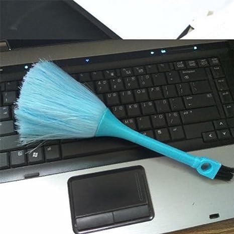 QIND - Cepillo de Teclado 2 en 1, Mini cepillos de Limpieza para teclados,
