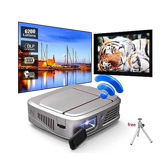 Ai LIFE Proyector Mini proyector DLP 3D de 6200 lúmenes WiFi ...