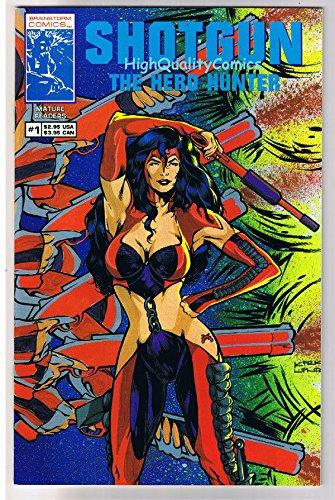 SHOTGUN #1, NM, Hero Hunter, Femme Fatale, David Cortez