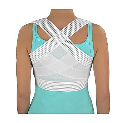 Duro-Med Posture Corrector, White, Medium