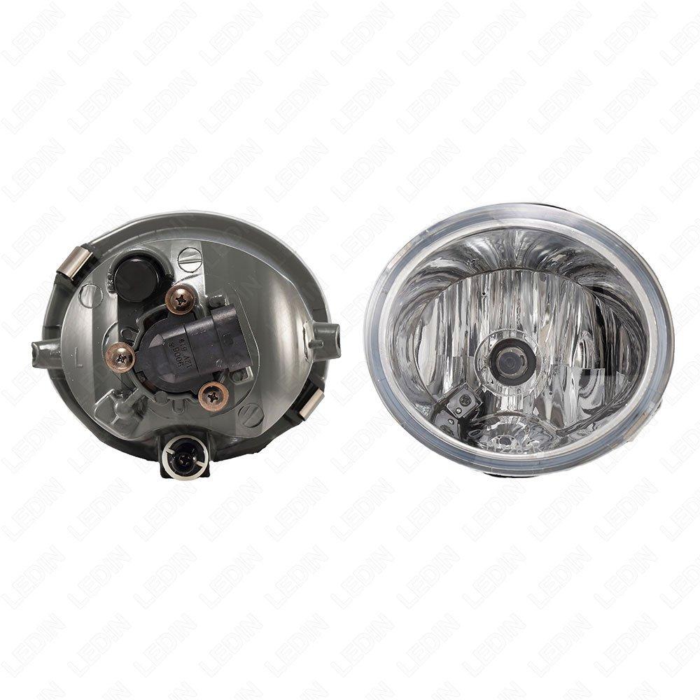 2009 GMC YUKON XL W//O AIR CURTAIN Door mount spotlight Driver side WITH install kit 100W Halogen -Black Larson Electronics 0909P4QQGIM 6 inch