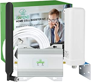 Verizon Cell Phone Signal Booster 4G LTE Cell Phone Booster Verizon Signal Booster Home Cell Signal Booster Verizon Cell Phone Extender Signal Amplifier Verizon Cell Booster Repeater Boost Voice+Data