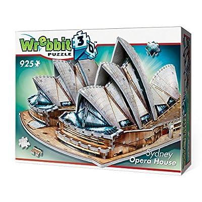 WREBBIT 3D Sydney Opera House 3D jigsaw puzzle (925-piece): Toys & Games