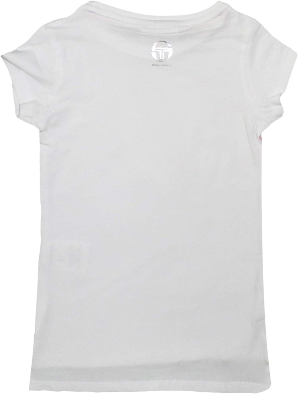 Baumwolle Sergio Tacchini M/ädchen Sport-T-Shirt kurz/ärmlig