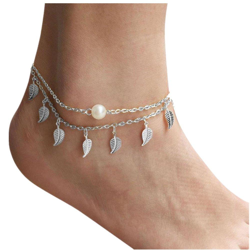 Sandistore Women Anklet Ankle Bracelet Beach Foot Jewelry SL Sandistore-910
