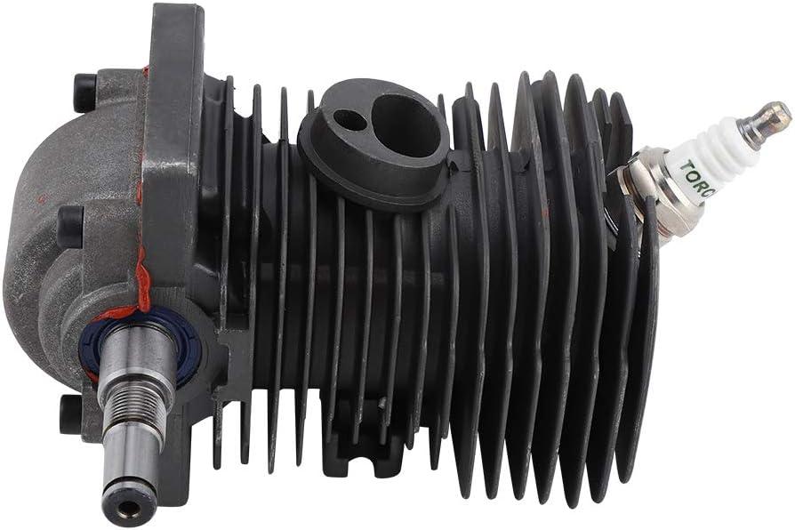 Motor Motor 38MM Cilindro Pistón Cigüeñal para STIHL MS170 MS180 018 Pieza de reemplazo de motosierra: Amazon.es: Bricolaje y herramientas