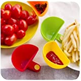 Dip Clip Clip On Chip & Dip Bowl Party Ware (2 Set of 8)