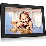 BSIMB Digital Picture Frame 10.1 Inch WiFi 16GB Digital Photo Frame 1280x800 IPS Touch Screen Auto Rotate Motion Sensor Add P