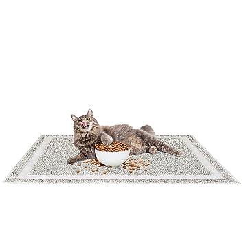Alfombrilla impermeable antideslizante para mascotas, alfombrilla de gato para gatos y perros, alfombrillas de