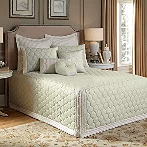 Lexington Fitted Bedspread Green Queen Home