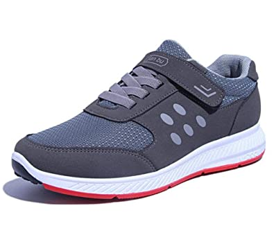 b7e20e95060 Scennek Middle-Aged Men s Lightweight Shoes Running Shoes Women Walking  Safety Shoes  Amazon.co.uk  Shoes   Bags