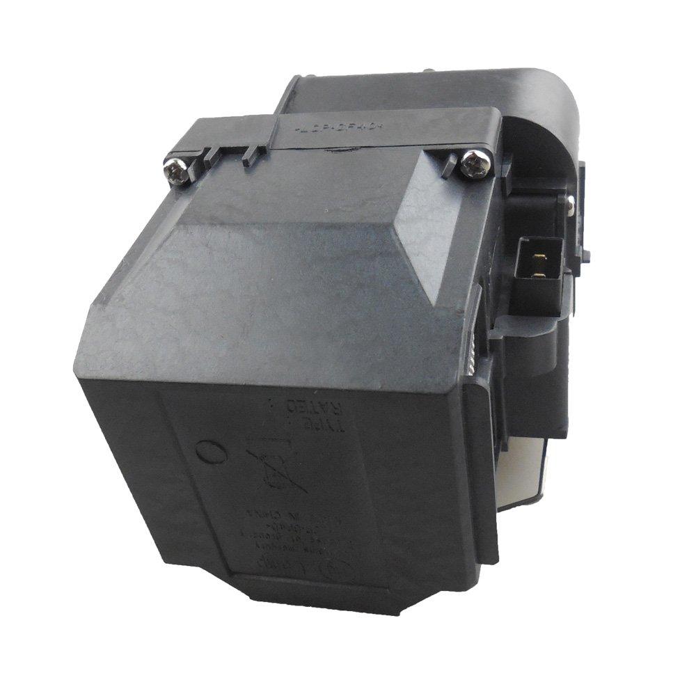 compatibile con Elplp75 EB-1945W adatta per EB-1940W EB-1955 PowerLite 1940W Supermait EP75 Lampada di ricambio per proiettore con alloggiamento EB-1950 EB-1960 EB-1965