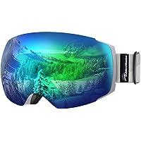 OutdoorMaster Unisex skidglasögon PRO för kvinnor och män, snowboard glasögon snöglasögon 100 % UV-skydd skidglasögon…
