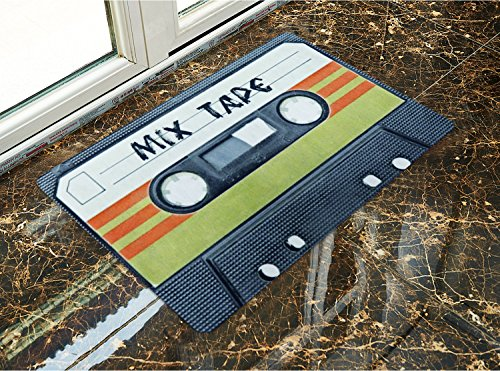 Non-slip door mat Retro Cassette tape
