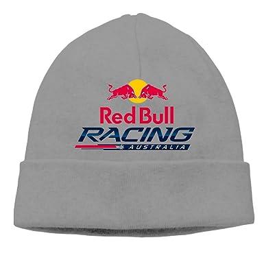 EchoD Red Bull Racing Adult Fall Winter Beanie Caps Hats DeepHeather ... e004e71f2d1