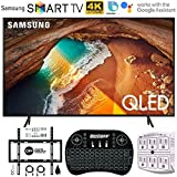 Samsung QN49Q60RA 49' Q60 QLED Smart 4K UHD TV (2019 Model) - (Renewed) w/Flat Wall Mount Kit Bundle for 45-90 TVs +...
