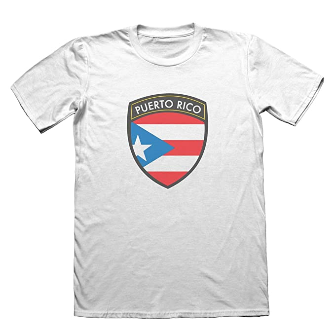 cbb2bc4336 Puerto Rico badge design - T-shirt da uomo vacanza viaggio top ...
