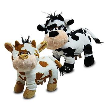 Vaca de peluche Vacas Cow Granja Animales Surtidos – 23 cm