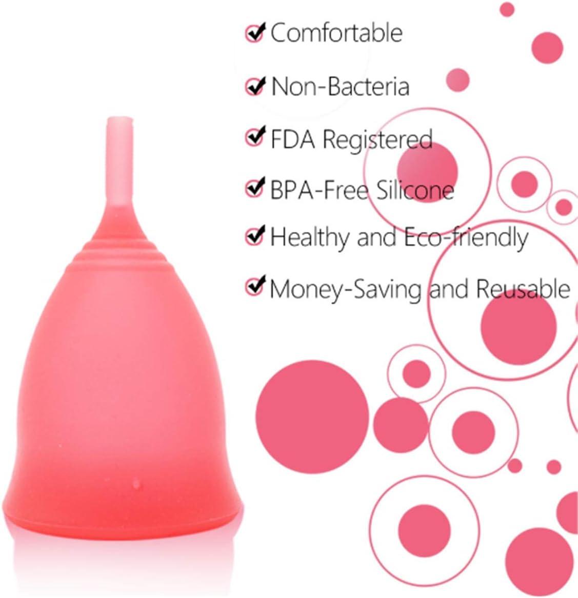 Copa menstrual Esterilizador Rojo Copa colectora menstrual ...