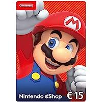 Nintendo eShop Tarjeta de regalo 15 EUR