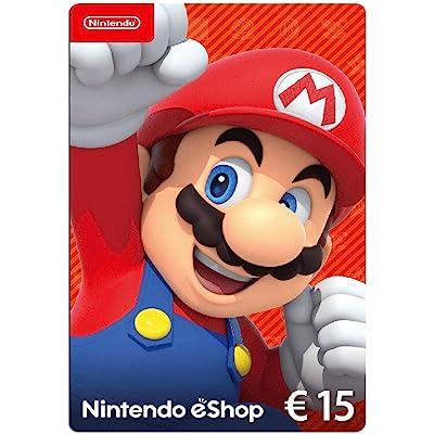 Nintendo eShop Tarjeta de regalo 15 EUR - Código de descarga