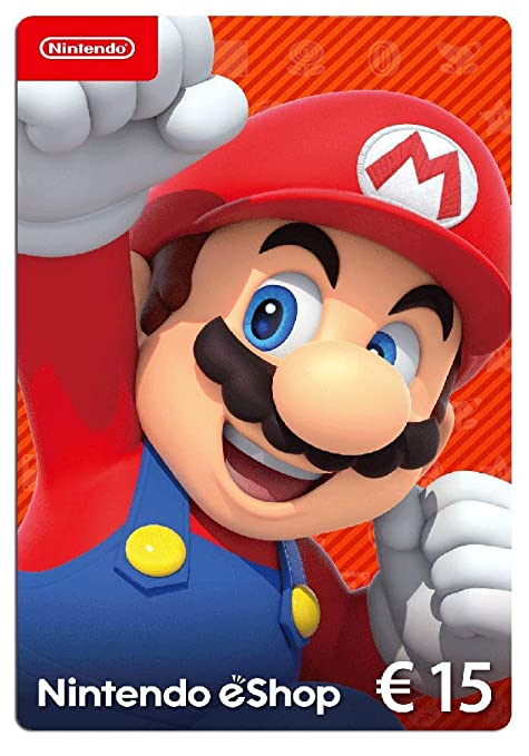 Nintendo eShop Card | 15 EUR Guthaben | Download Code: Amazon.de: Games