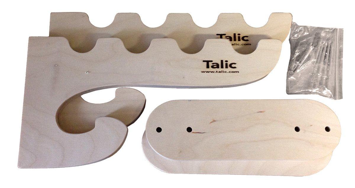 Talic Wall Mount 4 Paddle Rack 4 Paddle Wall Mount Rack