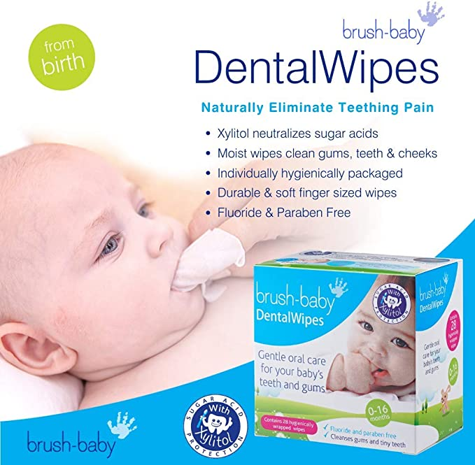 Jack /& JillNatural Baby Gum /& Tooth Wipes2 x 25s