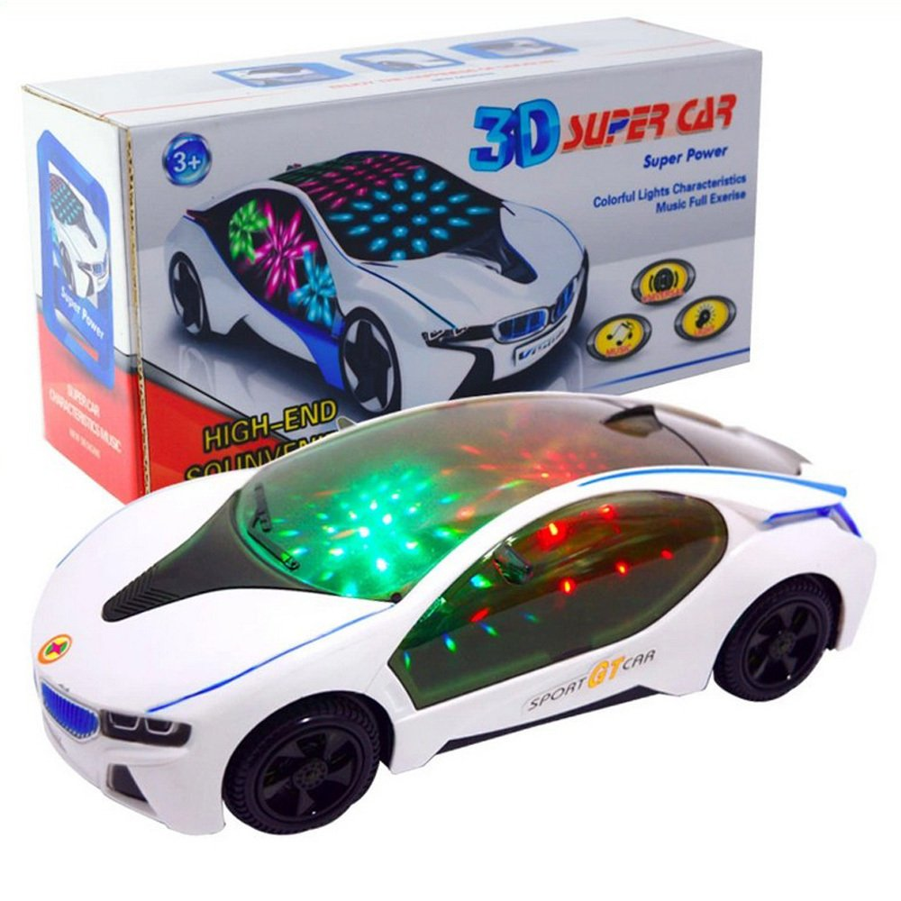 amazoncom eonkoo popular 3d light model car electric car toy high quatily automatic steering music toys cars for baby best gift baby