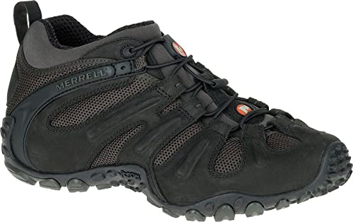 23a47893384 Merrell Chameleon II Stretch J559599 Trekking Hiking Outdoor Trainers Shoes  Mens J559599 Black Brown 6.5