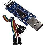 DSD TECH Adattatore seriale da USB a Ttl con Chip FTDI FT232RL Compatibile con Windows 10, 8, 7 e Mac OS X