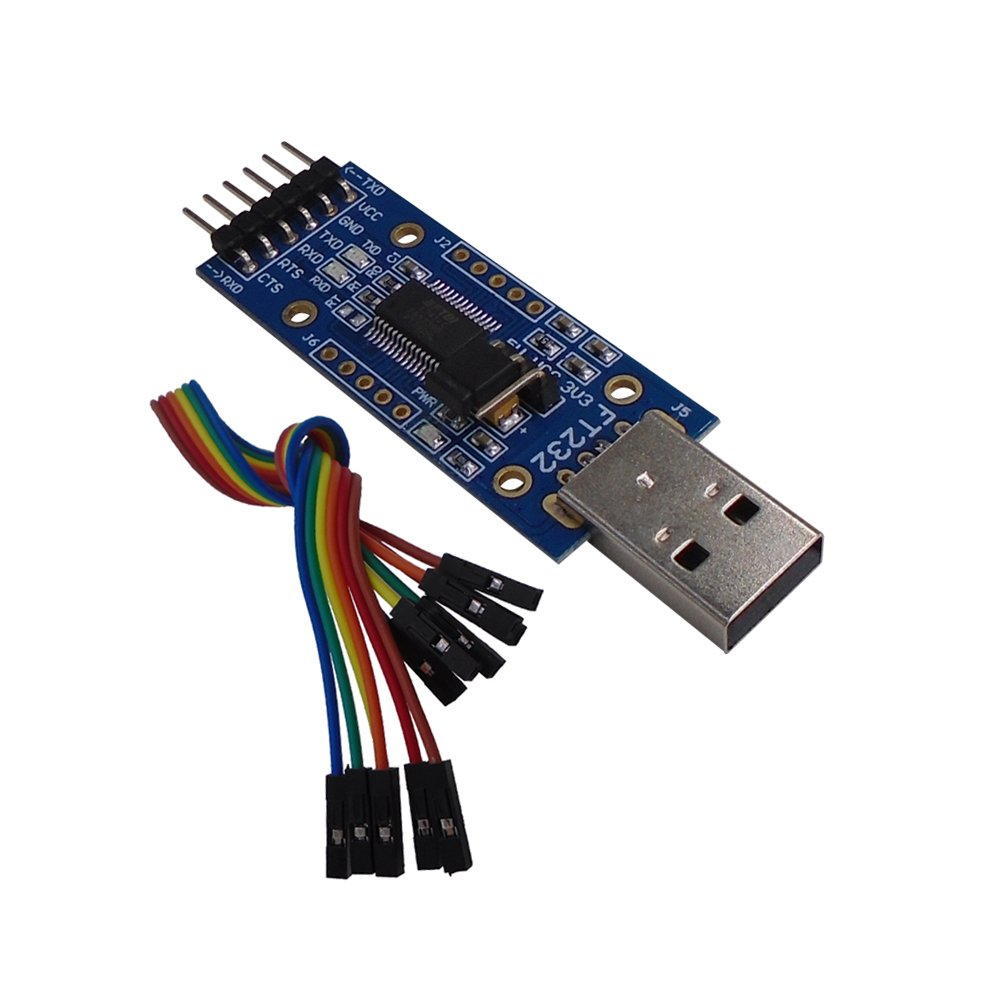 DSD TECH USB to TTL Serial Adapter FTDI FT232RL Chip Compatible Windows 10, 8, 7 Mac OS X SH-U09C