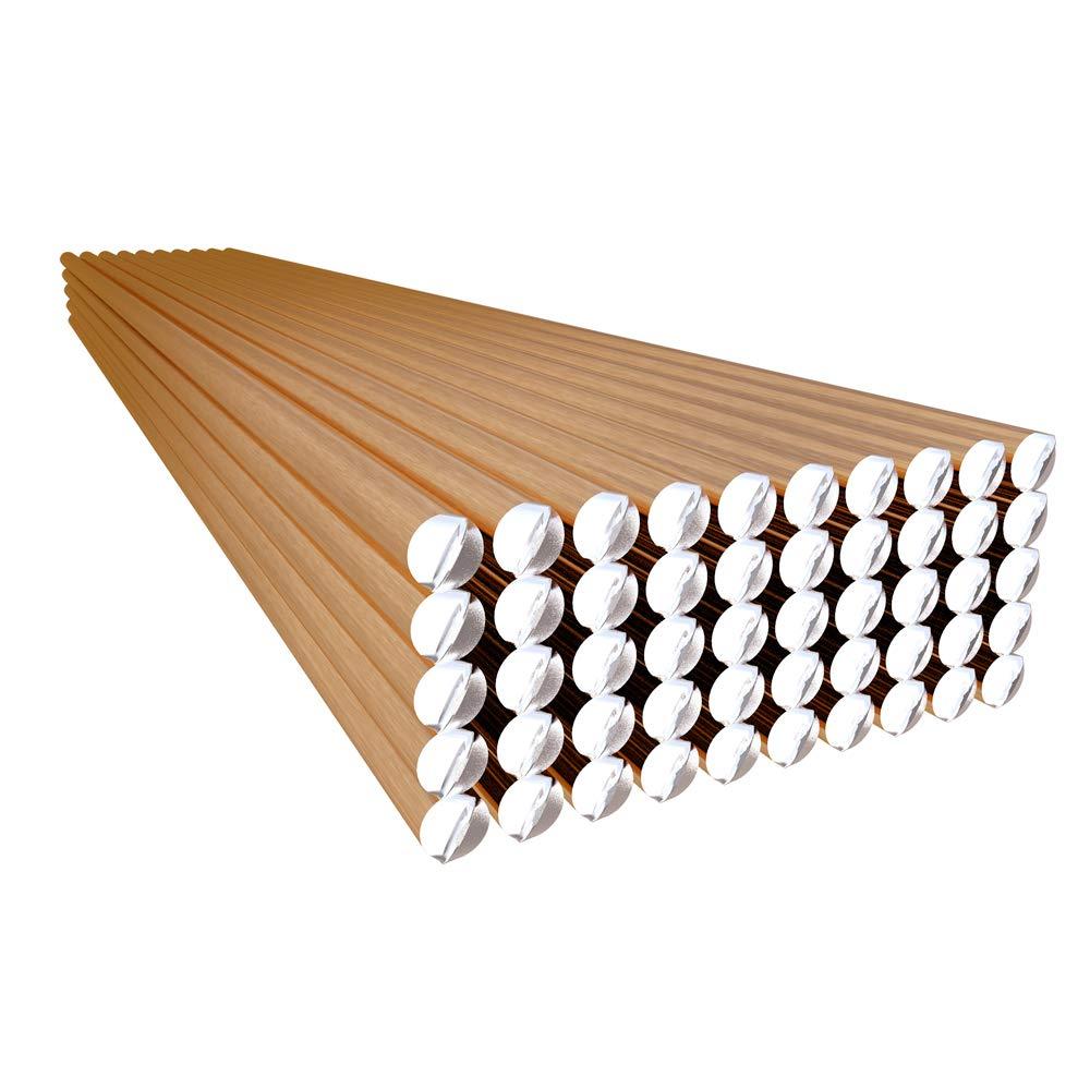KKmoon 50pcs 70S-6 Electrodo de soldadura de alambre sólido 1.6mm * 330mm de acero dulce CO2 Ar Soldador de varilla No necesita polvo de soldadura: ...