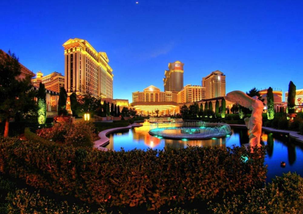 ndegdgswg DIY Pintura al óleo Las Vegas Estados Unidos ...