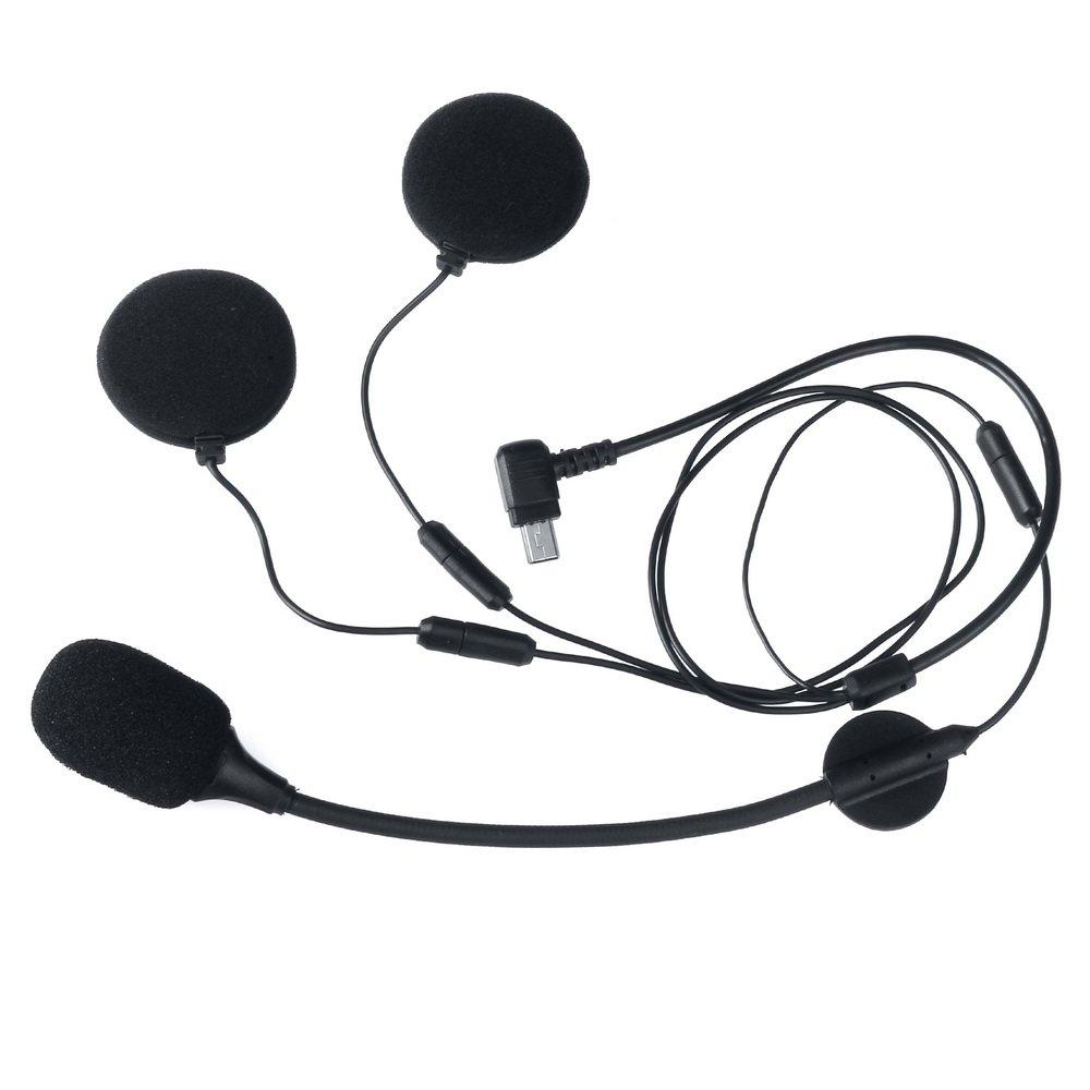 Bluetooth Intercom Headset Interphone For Motorbike and Skiing M1S(soft &hard microphone)