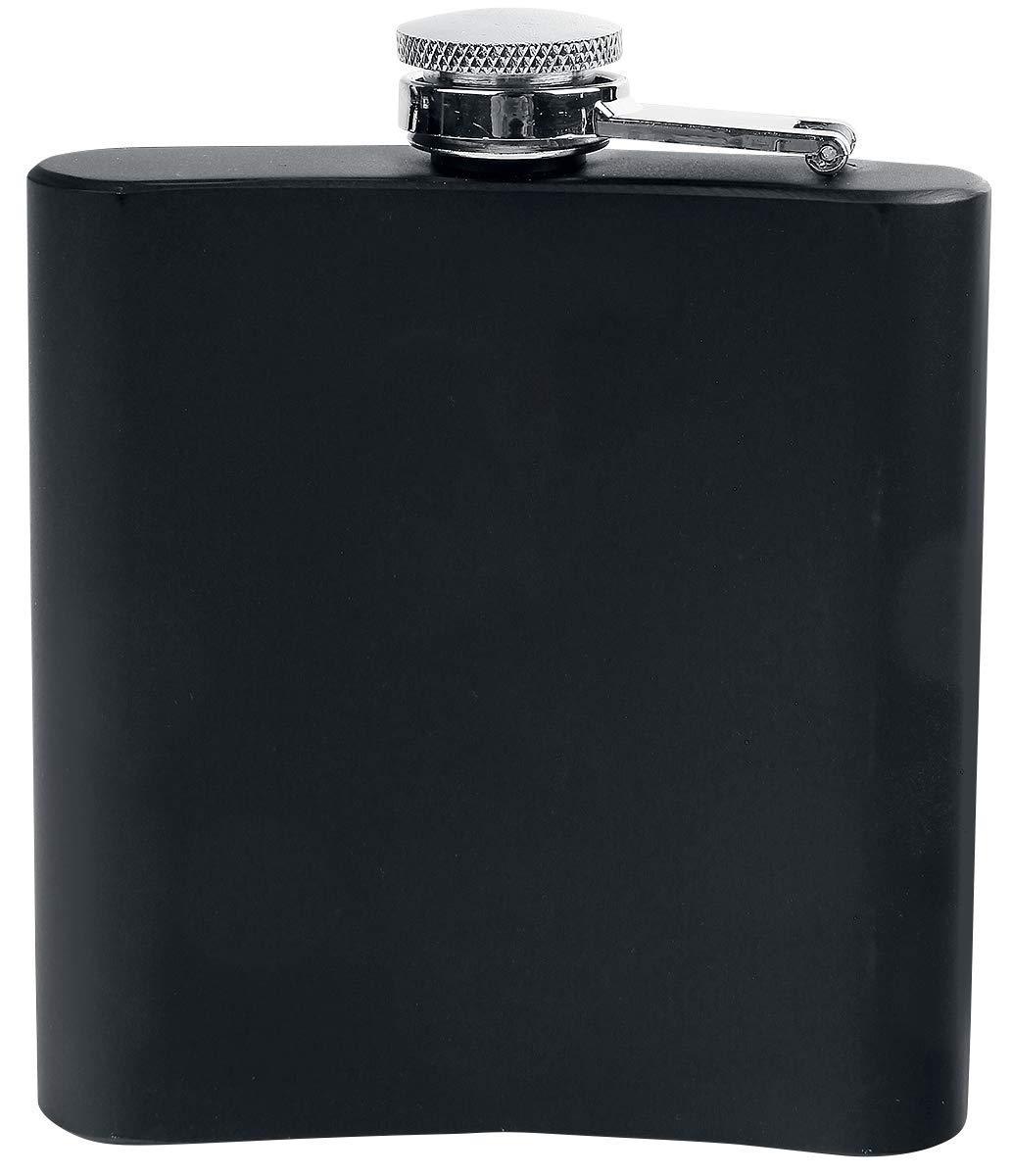 9.5/x 2/x 10/cm 1/unidades de medida AC//DC hfac01/Petaca acero Negro