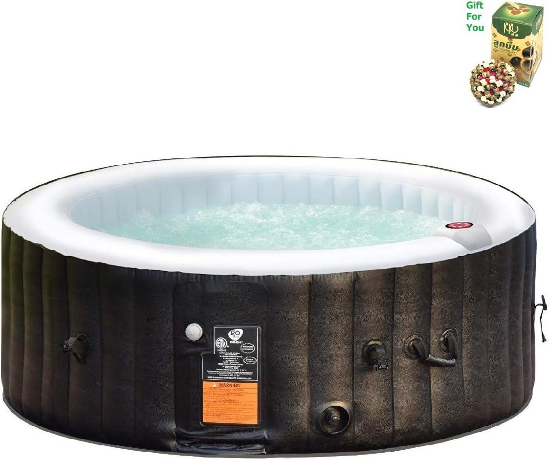 Amazon.com: COSTWAY Spa de masaje de burbujas inflable ...
