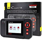 Launch X431 Creader VIII Code Reader Creader 8 ENG/AT/ABS/SRS EPB SAS Oil Service Light resets