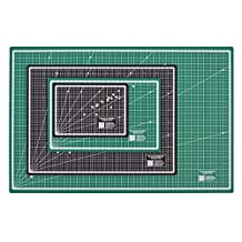 Self-Healing CUTTING MATS - 4 SIZES AVAILABLE! Reversible Inches and Centimeters - thoughtful design - 5 layer mat, finest available (Size A2 - 18 x 24) by Thackery Handmade