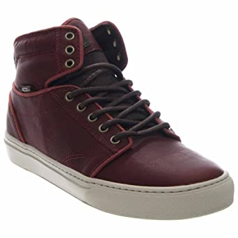 Amazon.com  Vans Alomar + Leather Mid-Top Skateboarding Shoe  Vans ... 61e34dc6b