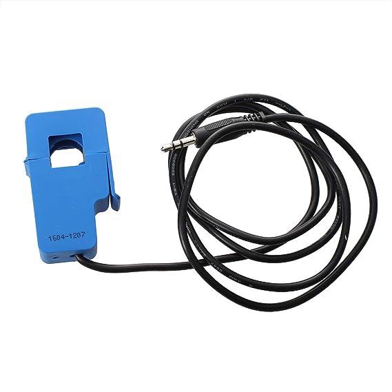 Azul Nrpfell Transformador de Corriente CA SCT 013-030 3.5mm Salida No invasiva