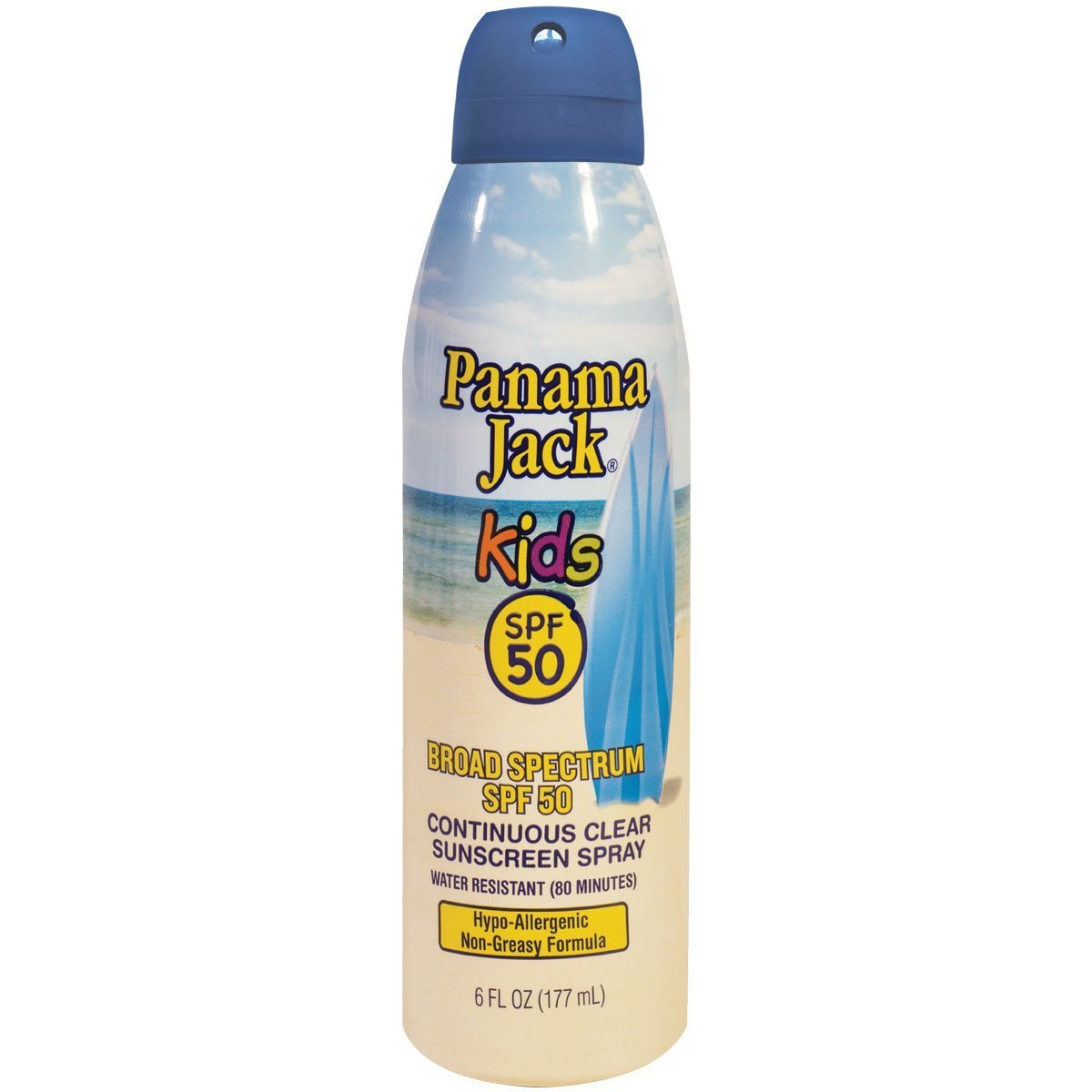 Panama Jack Baby and Kids Sunscreens Multi-Packs (Pack of 12, Continuous Spray Kids Sunscreen) by Panama Jack (Image #1)