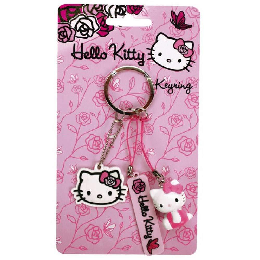 HELLO KITTY Rose Schlüsselanhänger