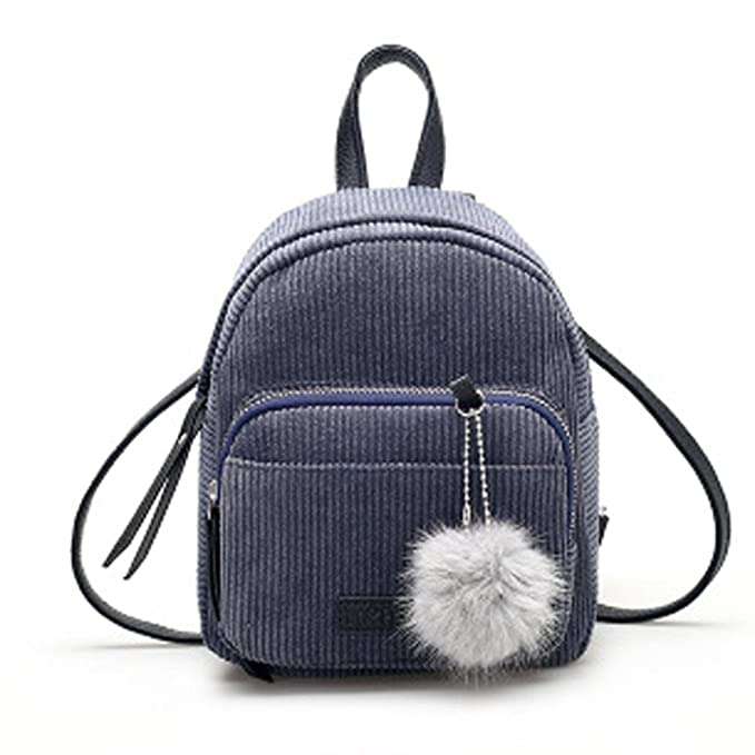 a5feb49cbe4 Clearance! HARRYSTORE Womens Hairball Corduroy Backpack School ...