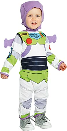 Boys Toy Story Buzz Lightyear Baby Fancy Dress Costume Size 3 6 Months