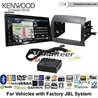 Volunteer Audio Kenwood Excelon DNX694S Double Din Radio Install Kit with GPS Navigation System Android Auto Apple CarPlay Fits 2004-2010 Toyota Sienna with Amplified System