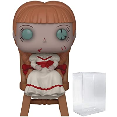 Funko Pop Horror: Annabelle Comes Home - Annabelle in Chair Pop! Vinyl Figure (Includes Compatible Pop Box Protector Case): Toys & Games