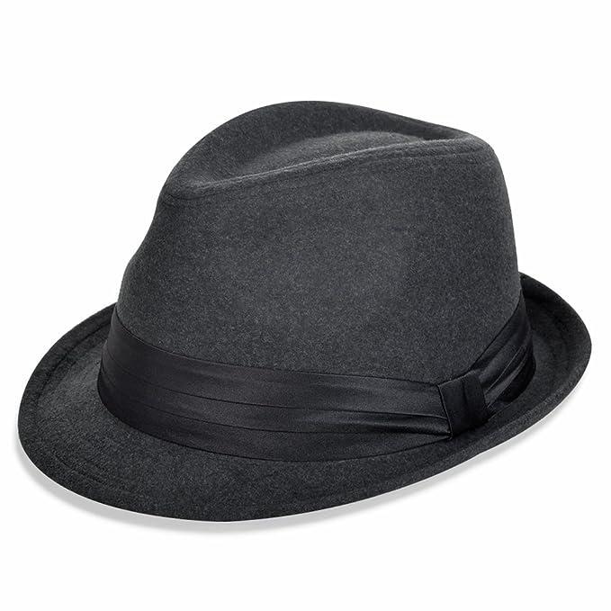 Vbiger - Sombrero de vestir - para mujer gris Talla única  Amazon.es  Ropa  y accesorios 6db275809d5