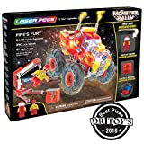 Laser Pegs Fire's Fury Light Up Building Kit (350 pieces)
