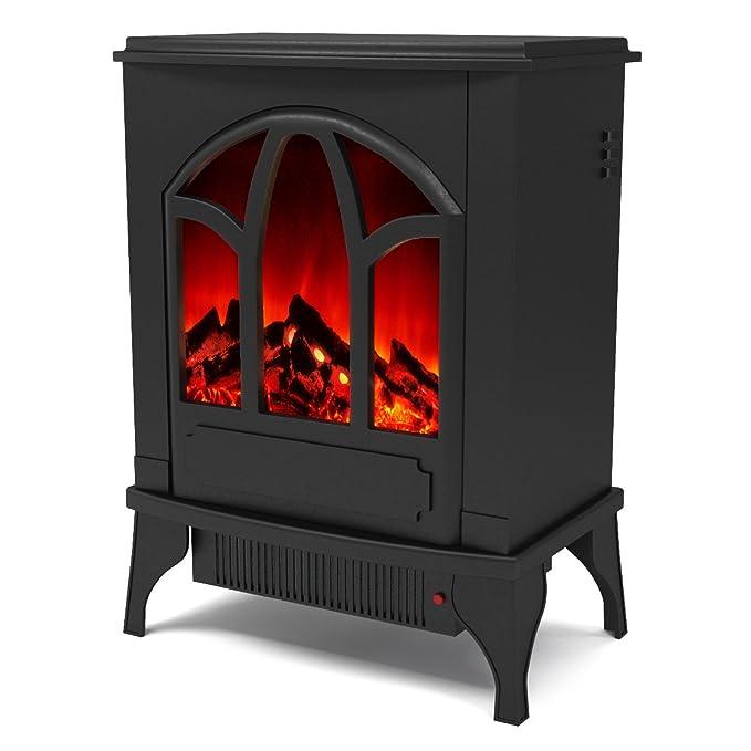 Amazon.com: Regal llama Juno chimenea eléctrica calentador ...